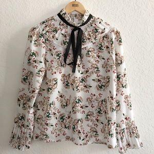 {pandora} christmas blouse